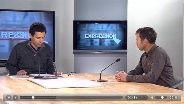 Interview TV8 mont Blanc - mardi 27 janvier 2015