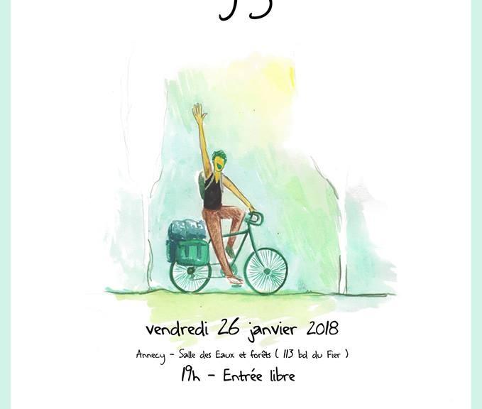 affiche voyages à vélo 2