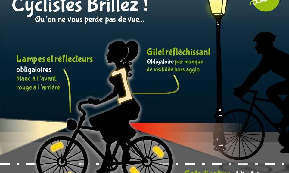 cyclistes brillez roule&co